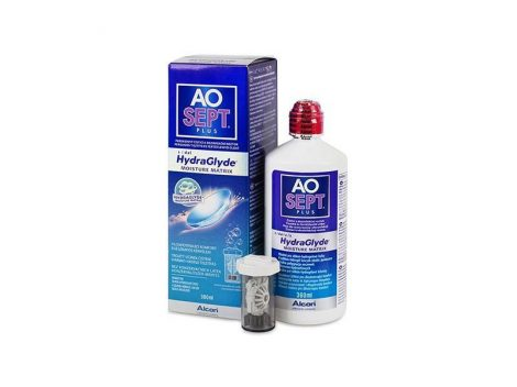 AoSept Plus with HydraGlyde (360 ml)
