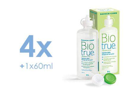 Biotrue (4x300 ml + 1x60ml)