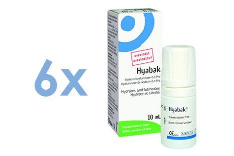 Hyabak 0,15 (6x10 ml)