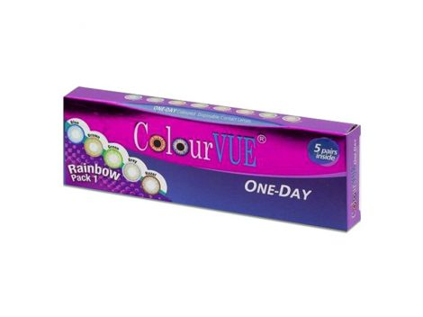 ColourVUE TruBlends One-Day Rainbow Pack 1 (x10)