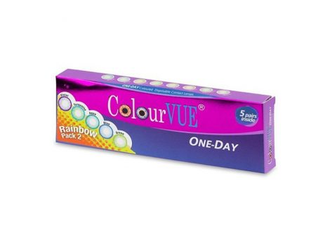 ColourVUE TruBlends One-Day Rainbow Pack 2 (x10)