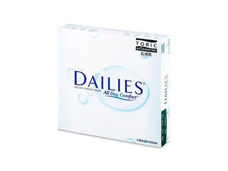 Focus Dailies All Day Comfort Toric (90 lenses)