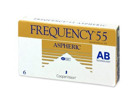 Frequency 55 Aspheric (6 lenses, BC: 8.4)